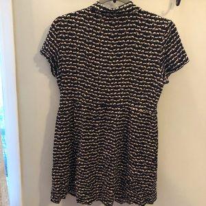 H&M Dresses - H&M Divided deer design collared dress